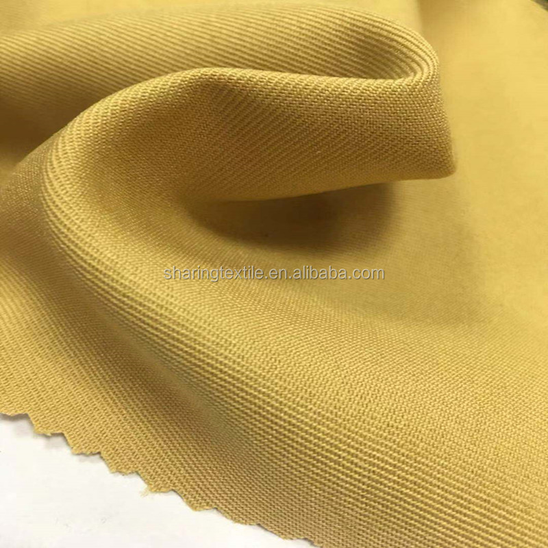 100%RPET Recycled 150D*300D Polyester Gabardine Oxford Fabric For Work Uniform,Workwear Fabric