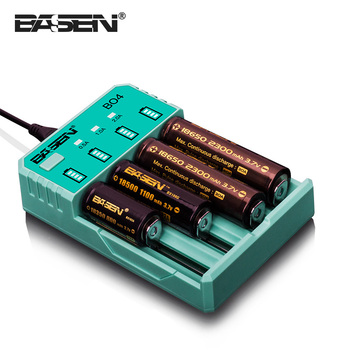 Li-ion Universal battery charger 4*18650 Battery Charger 18650 16340 14500 Rechargeable 3.7V Battery Li-ion EU Plug charger