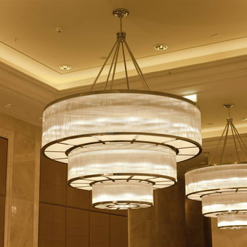 Banquet Hall And Ceiling Decoration Beautiful Light Fixtures Celling For Halls