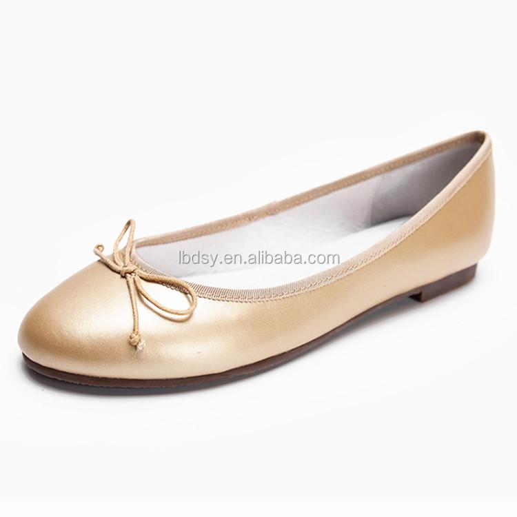 factory new design leopard print flat dress shoes
