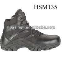 middle cut USA famous black ultimate weapons 6 inch army boots