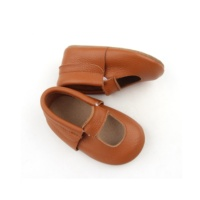 Custom Baby Dress Shoes Cute Brown Newborn Lovely Baby Dress Shoes
