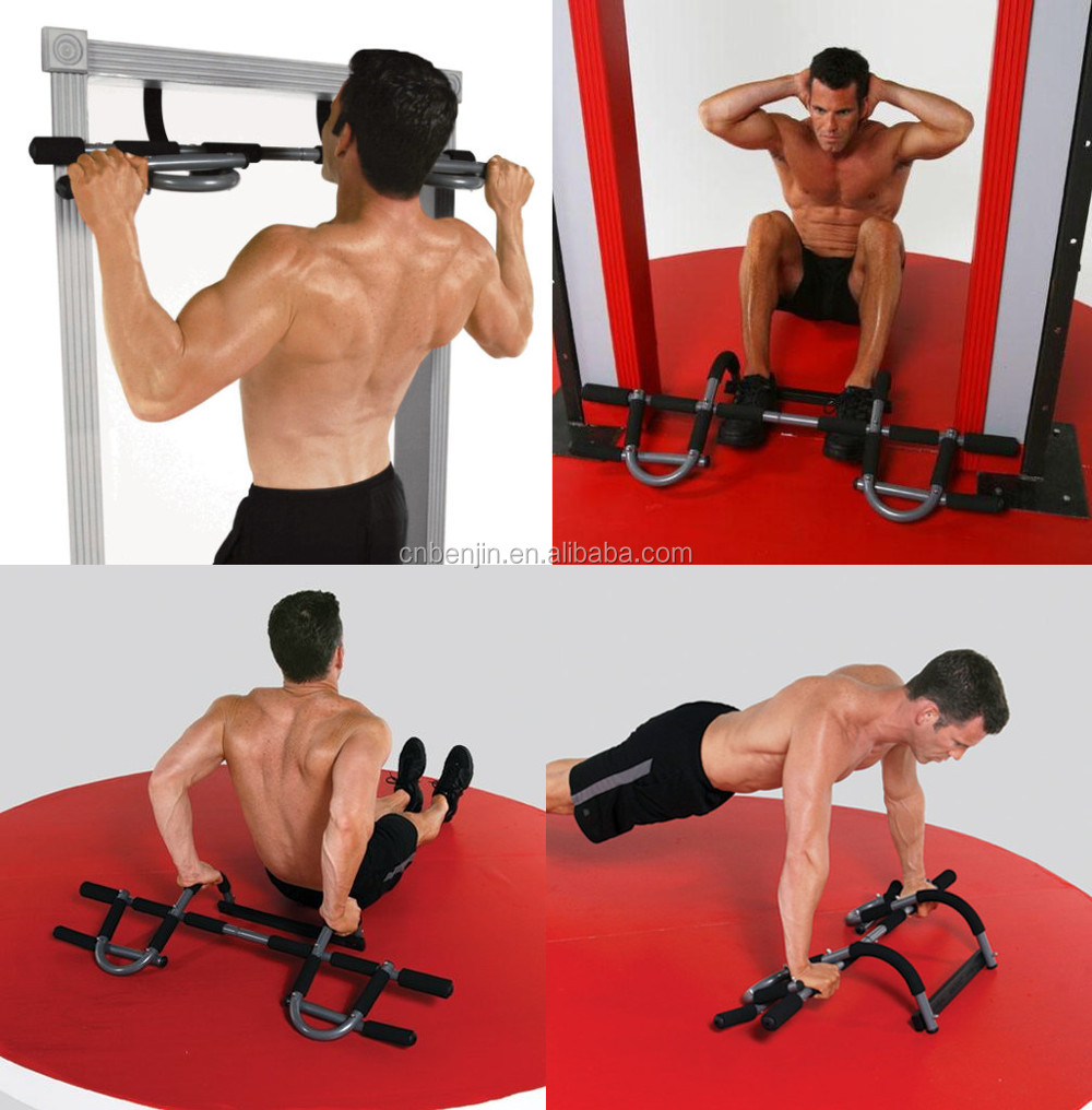 Extreme Door Gym Bar For Chin Ups Pull And Fitness Home Exercise Workout