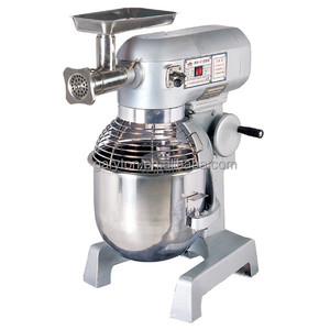 GRT - B20F New food paddle mixer with Meat Grinder Attachment