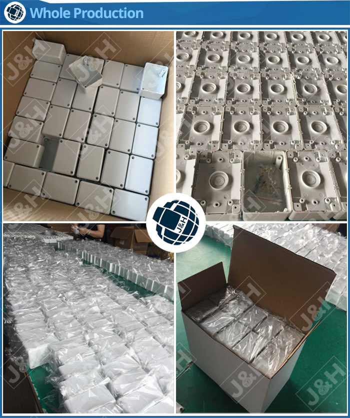 China suppliers australian standard cable junction box, AS/NZS PC or ABS plastic junction box with terminal connector
