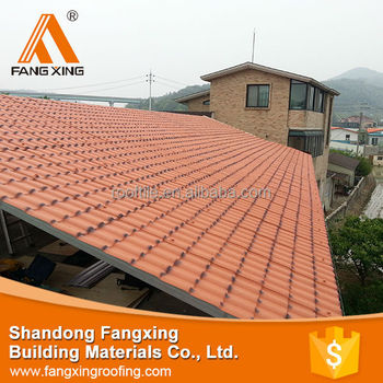 Low Price And Best Balcony Roof Covering,Plastic Tile Roofing ...