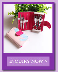 New style high quality portable manicure set