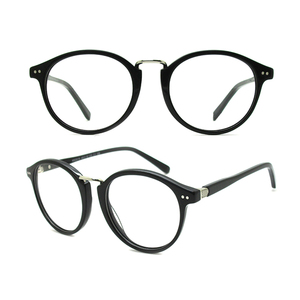 c5bef0cf12 A1-3 Shenzhen Lunettes Optic Acetate Spectacle Glasses Metal Nose Pads  Vintage Distribution Eyewear Eyeglasses