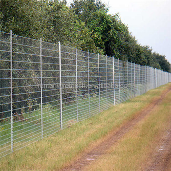 China Manufacturer High Tensile 18 Foot High Game Fence