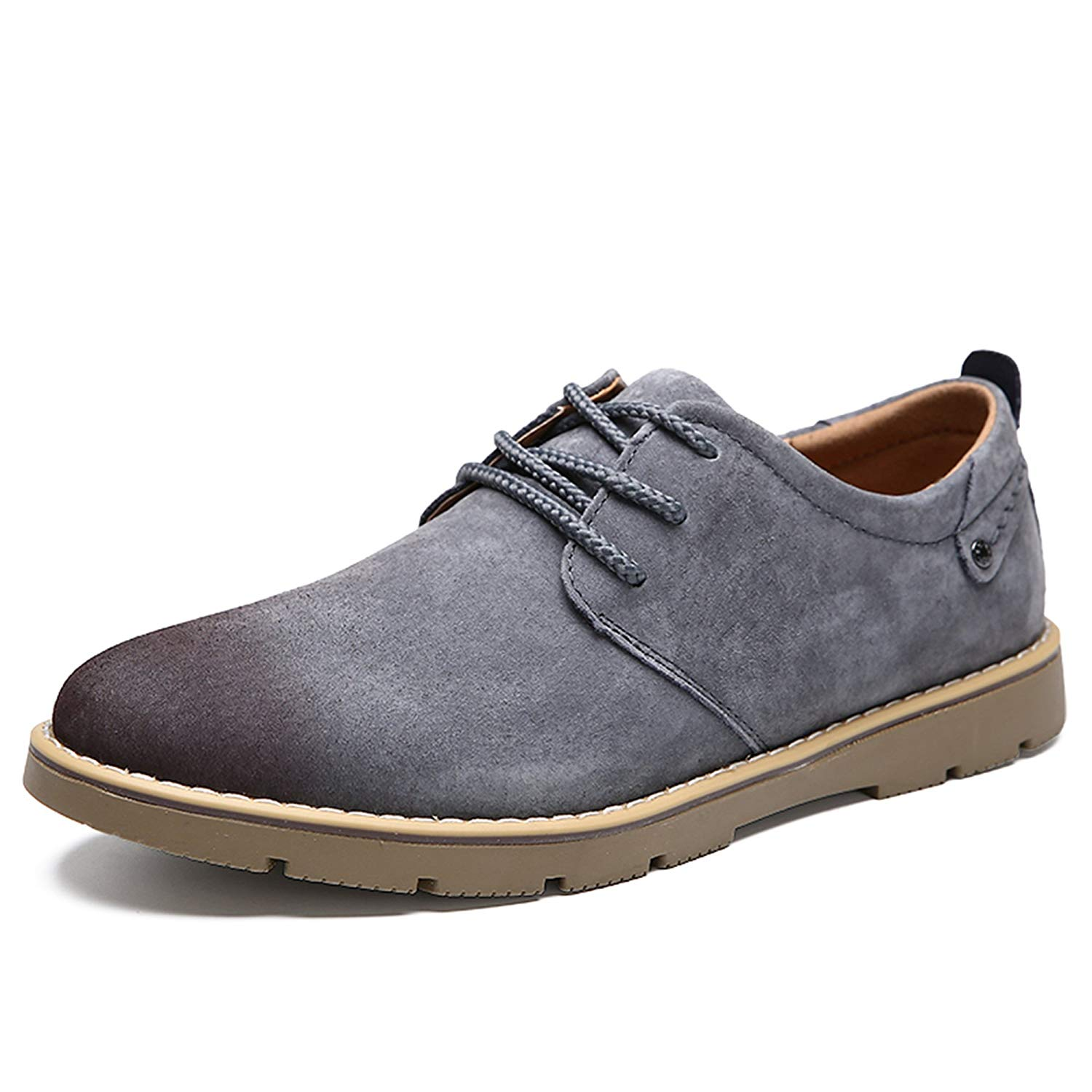 Genuine Cow Leather Sneakers Lace-up Fashion Oxfords Shoes For Men