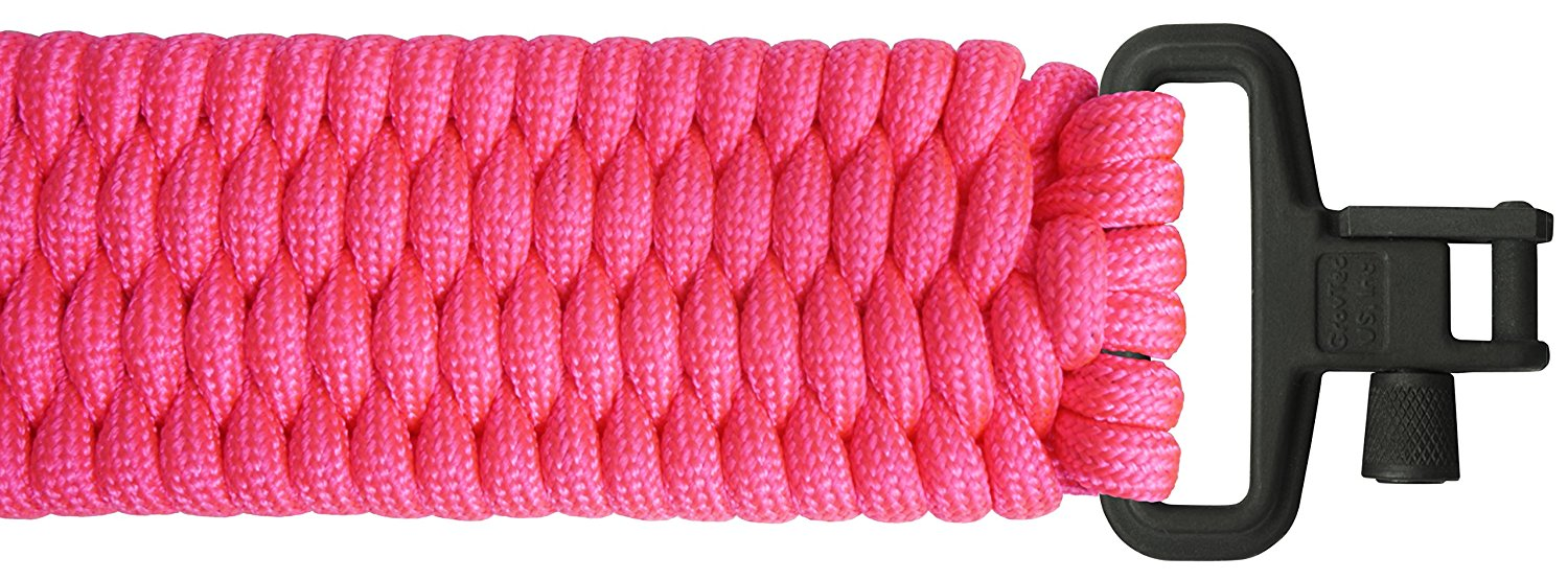 BackBone(TM) Paracord Rifle Sling - Gun Sling / Rifle Sling - Handmade in the USA With Authentic TOUGH-GRID Mil-Spec 750lb Type IV Paracord and Mil-Spec Swivels