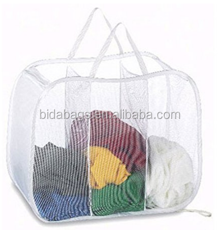 Laundry Hamper - Pop Open Sorter Colors Vary