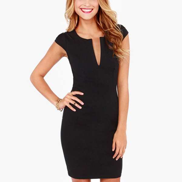 2017 Damen Büro Kleid Arbeitskleidung V-ausschnitt Frauen Sommer Kleid Bleistift Kleid - Buy Frauen Kleider,Kleidung Frauen,Büro Kleid Product on ...