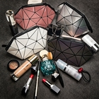 Most Popular PVC Makeup Bag With Acrylic Divider Clear Transparent Pouch cosmetic bag