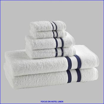 Dobby Bath Towel Solid Color Bath Towel Dobby Hand Towel