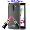Electroplating Mirror Hard Phone Case for LG G4 Stylus Case