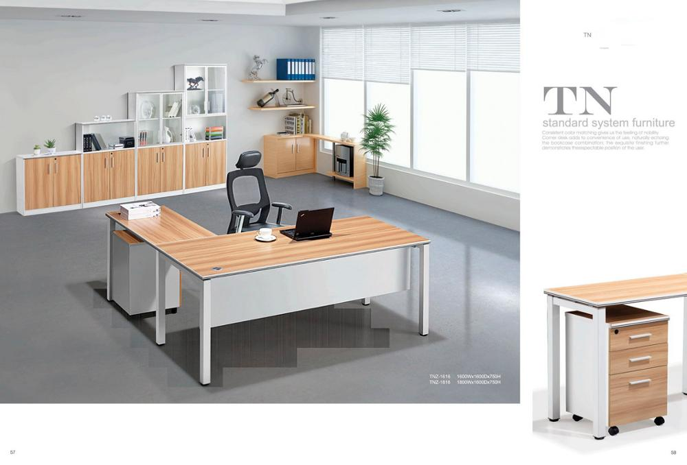 New Comfortable Exclusive Office Furniture Desks Executive Desk For Manager Fashion Top Design