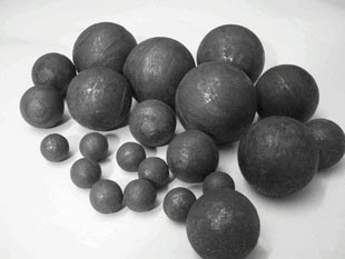 middle chrome grinding casting steel balls for mineral and metal ores