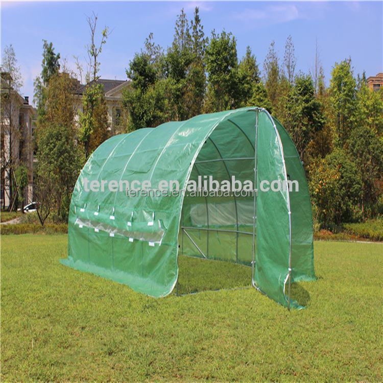 2017 New deisgn mutlispan greenhouse tunnel green house easy diy garden plant's house