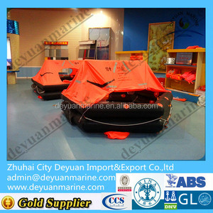 inflatable floating raft Throw Over Board Liferaft marine life raft