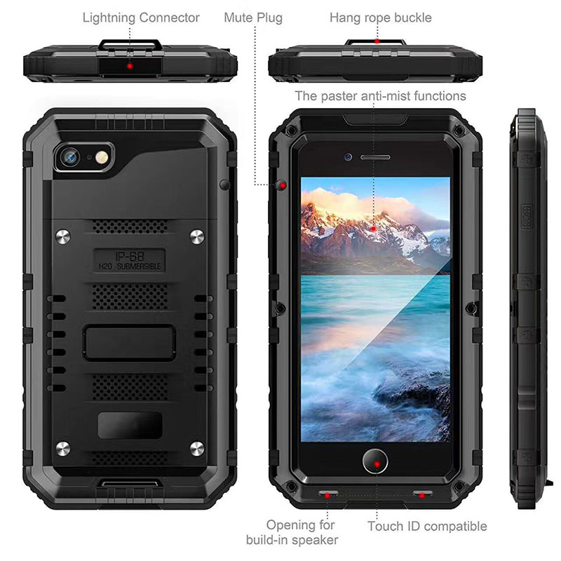 buy popular 5d0a6 0fcb4 Shenzhen Factory Water Resist 3 In 1 360 Full Cover Ip 68 Smartphone  Waterproof Case For Iphone 6s - Buy Smartphone Waterproof Case,Smartphone  ...