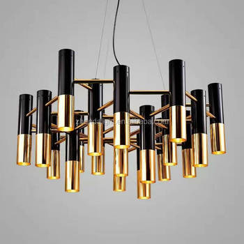 European style chandelier e19 round strip shape kitchen decor black european style chandelier e19 round strip shape kitchen decor black gold iron pendant lamp aloadofball Image collections