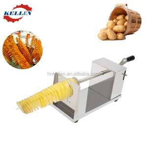 High efficiency unique and flexible potato string cutter