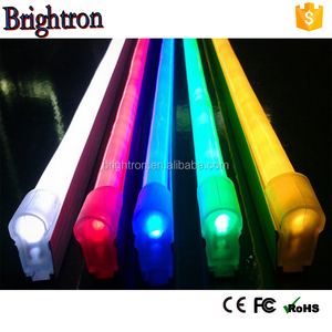 DMX available smd5050 flexible RGB LED Neon tube/Rope light 7 colors changing