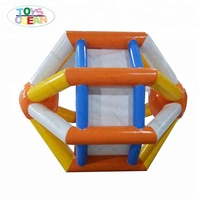 new design Floating inflatable water roller wheel for aqua running fun
