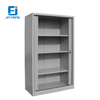 Hefeng High Quality Office Furniture Metal Vertical Tambour Roller Roll Up Door File Cabinet