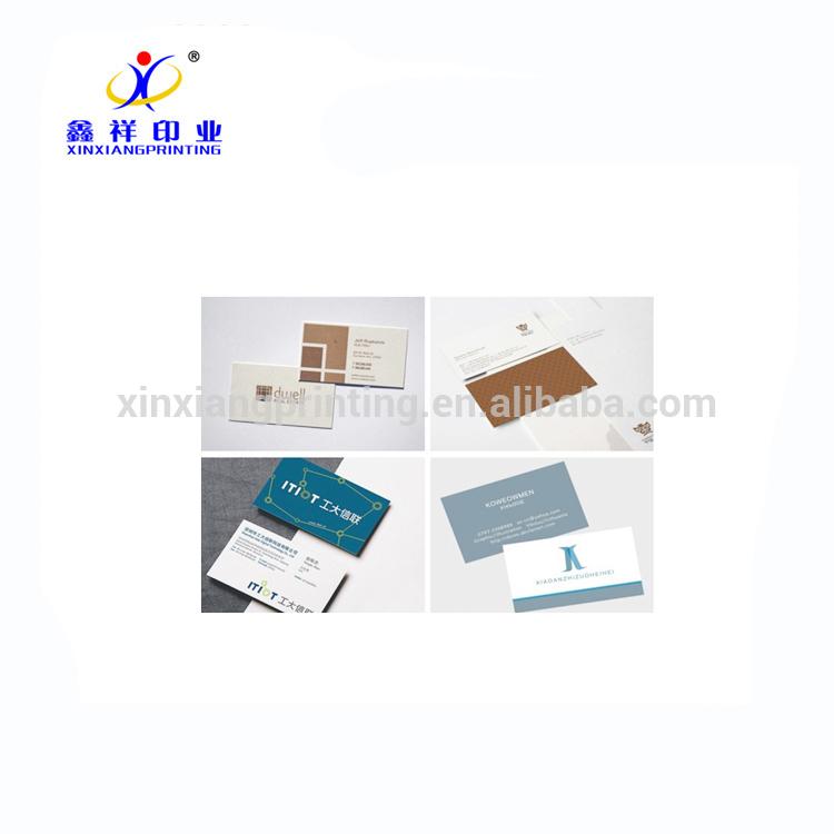 Kundenspezifische Papiervisitenkarten-Visitenkarte