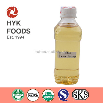 yellow color golden color C3 C4 C13 passed F55 F48 Fructose Syrup