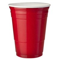 Wholesale Factory Sell popular 16oz Custom red plastic Solo Cup for Party