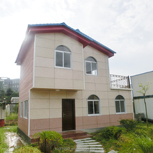 China wholesale light steel structure prefab houses luxury building as villa,office