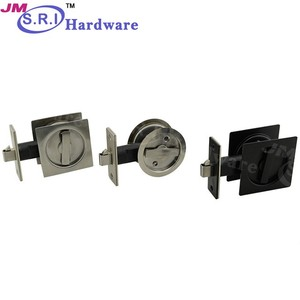High quality furniture hardware stainless steel glass sliding door lock