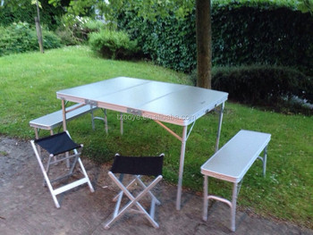 Elite Picnic Camping Table And Bench Set - Buy Camping Folding Table ...