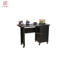 cheap home office black folding mobile computer desk