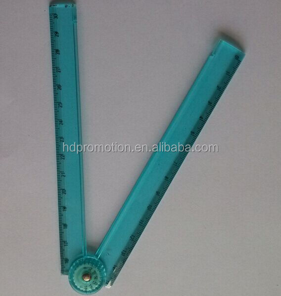 30cm transparent folding patchwork ruler