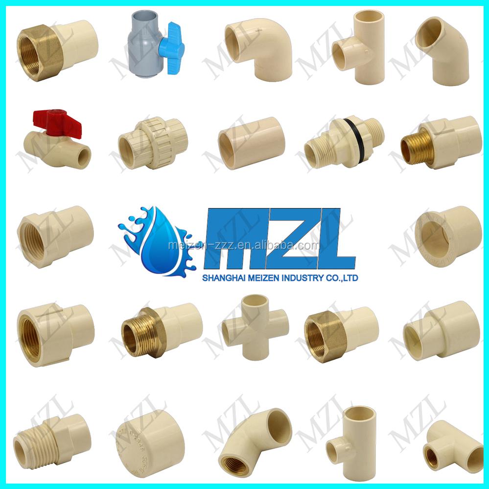 Cpvc astm d plastic inch pvc pipe fittings buy