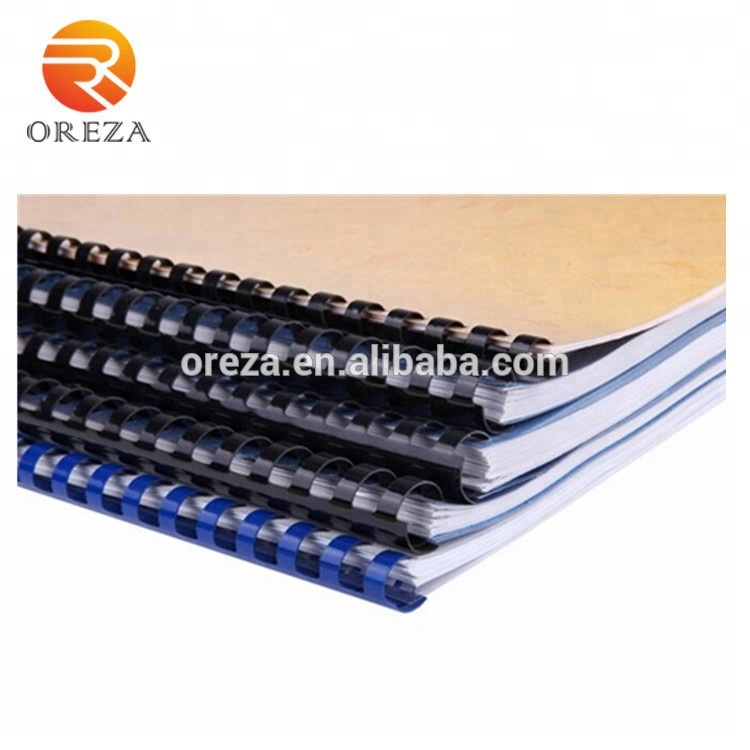 6-51mm plastic boek PVC kam binding ring