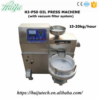 Well-made oil making machinee HJ-P50 with vacuum filter system
