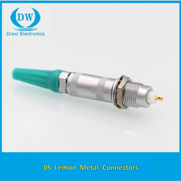 Alternative lemos connector 2pin 3pin 4pin 5pin 6pin 9pin push pull lemos medical connector