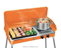 Protable Indoor and outdoor Gas Barbecue BBQ Grill