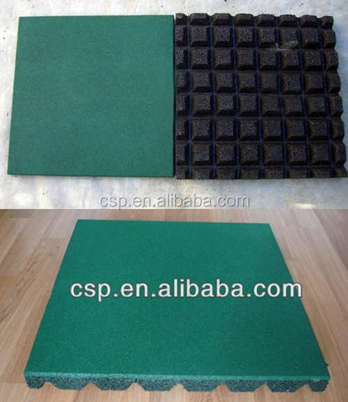 Green Plastic Garden MatAcoustic Insulation Rubber For Gym Buy