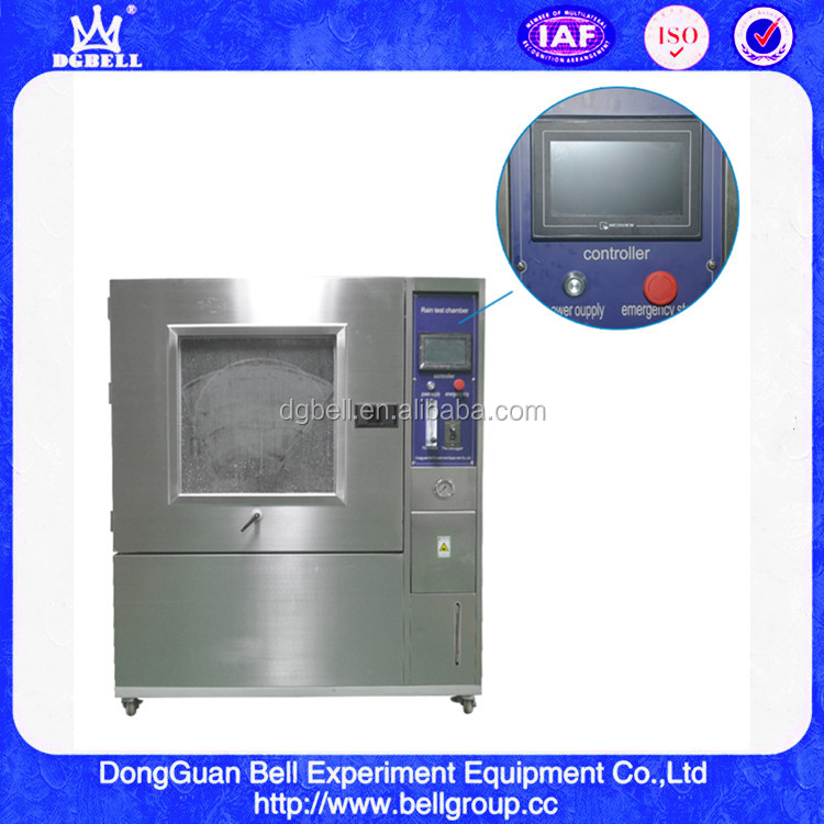Factory Direct Supply Rain Spray Test Chamber IPX5, IPX6, IPX7