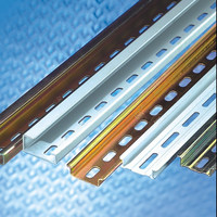 din rail 35mm x 7.5 mm zinc plated TH35-7.5 aluminum mounting rail