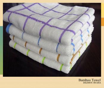 Haute qualit jetable serviette de bambou buy product on for Serviette de toilette haute qualite
