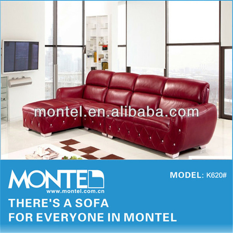 Burgundy Leather Sofa, Burgundy Leather Sofa Suppliers And Manufacturers At  Alibaba