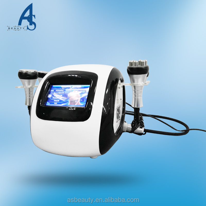 Deliquescent adipose; lymphatic drainage portable tripolar rf cavitation machine