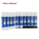 Office Wisdom 9g High quality strong adhesion solid stationery pva school glue stick manufacturer glue stick